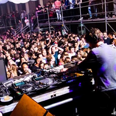 Pleinvrees sfeer DJ