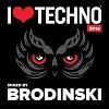 Brodinski I Love Techno 2014 cover