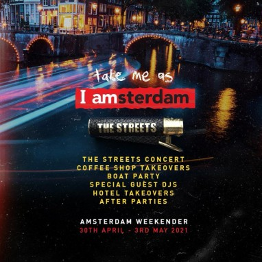The Streets Amsterdam takeover