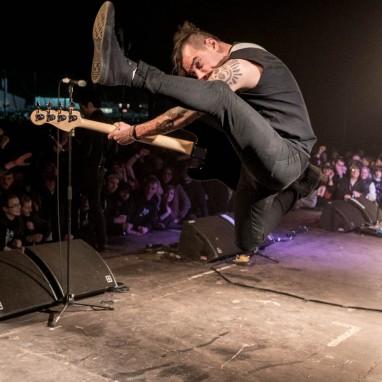 Anti-Flag Groezrock concertsfeer