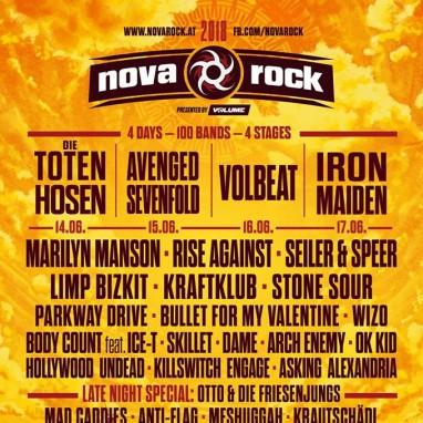 NovaRock 2018
