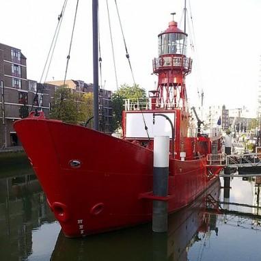 Rode Lichtschip Rotterdam