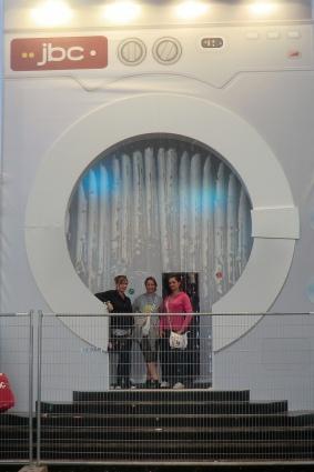 Reclameland Weggeefactie 2012 gebruiker foto - \'S werelds grootste wasmachine