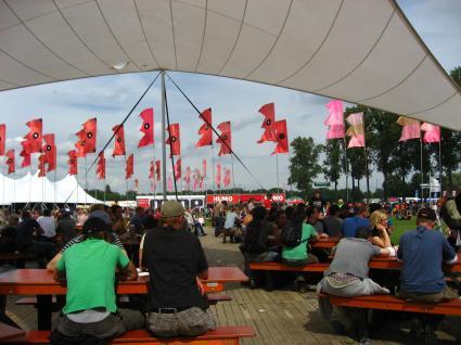 Pukkelpop 2008 gebruiker foto - Vlaggen