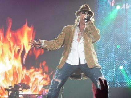 Guns n' Roses Gelredome gebruiker foto - P1000609