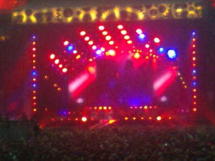 AC/DC Amsterdam ArenA gebruiker foto - Podium 2