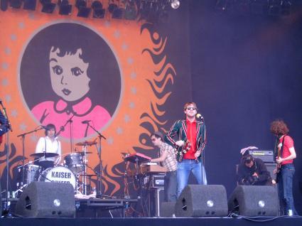 Pinkpop 2005 gebruiker foto - Kaiser Chiefs @ Pinkpop