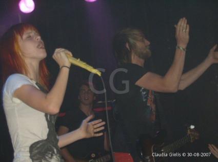 Paramore Melkweg gebruiker foto - Hayley Williams.